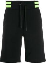 Philipp Plein two tone bermuda shorts