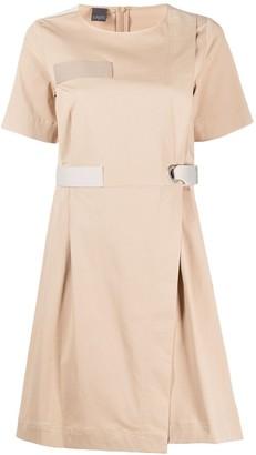 Lorena Antoniazzi colour block mini dress