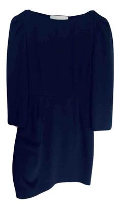 Tara Jarmon Navy Polyester Dresses