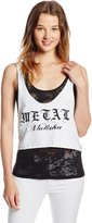 Metal Mulisha Women's Fear The Mulisha Layered Tank Top