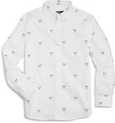 Vineyard Vines Boys' Lacrosse Print Oxford Shirt
