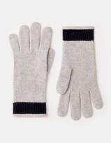 Cashmere Gloves Silver Melange Women Boden