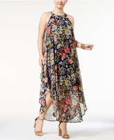 Love Squared Trendy Plus Size Chiffon Maxi Dress