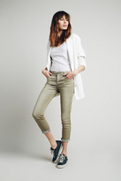 Free People Womens ROLLER CROPPED SKINNY