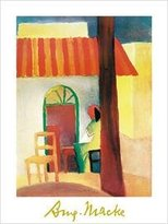 Caffe 1art1 Posters: August Macke Poster Art Print Turco (32 x 24 inches)