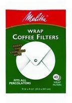 Melitta Usa Inc 627402 Wrap Coffee Filter