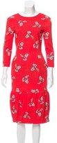 Preen Printed Lerman Dress w/ Tags