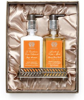 Antica Farmacista Orange Blossom Hand Wash & Moisturizer Gift Set with Tray