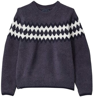 Barefoot Dreams Nordic Sweater (Little Kids/Big Kids) (Pacific Blue) Men's Clothing