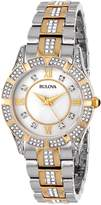 Bulova Women's 98L135 Crystal Bracelet Watch