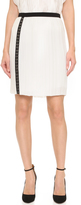 J. Mendel Micro Pleated Skirt