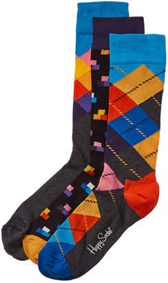 Happy Socks 3Pk Socks Gift Box