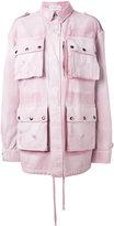 Faith Connexion oversized military jacket - women - Cotton - L