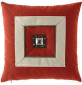 Elaine Smith Coral Cruise Jewel Outdoor Pillow