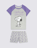 Marks and Spencer SnoopyTM Short Pyjamas (6-16 Years)