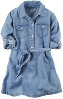 Carter's Toddler Girl Denim Shirt Dress