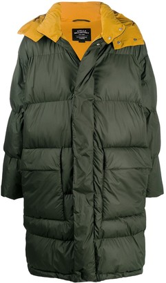 Stella McCartney Hooded Mid-Length Padded Coat
