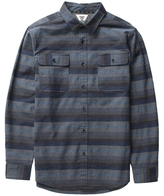 VISSLA Avalanches Plaid Flannel Shirt