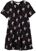 Fire Crinkled Knit Short Sleeve Dress (Big Girls)