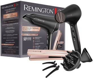 Remington Pro Advanced Thermal Technology Hair Dryer with Mini-Straightener