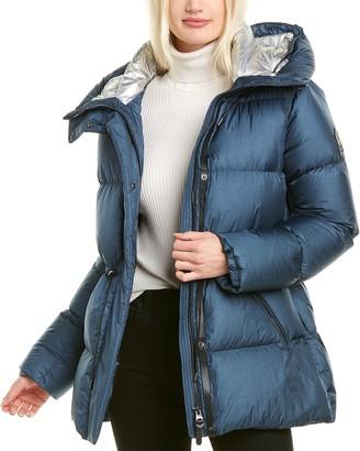 Mackage Freya Leather-Trim Jacket