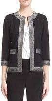 St. John Women's Crystal Embellished Milano Knit Jacket