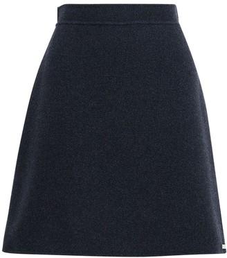 Sportmax Wool A Line Mini Skirt