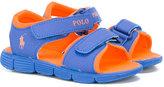 Ralph Lauren double touch strap sandals