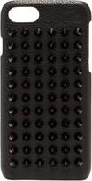 Christian Louboutin - Loubiphone Spike Leather Iphone 7/8 Case - Mens - Black