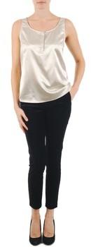 La City PANT VELOUR women's Cropped trousers in Black