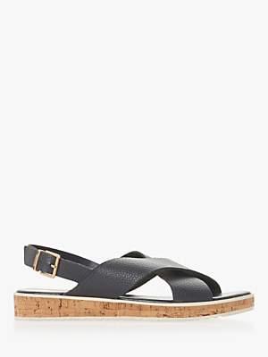 Dune Lorde Cross Strap Sandals