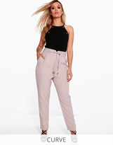 boohoo Plus Tailored Slim Fit Trousers