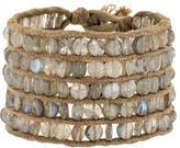 Me & Ro Me&Ro 5-Strand Labradorite Bead Bracelet