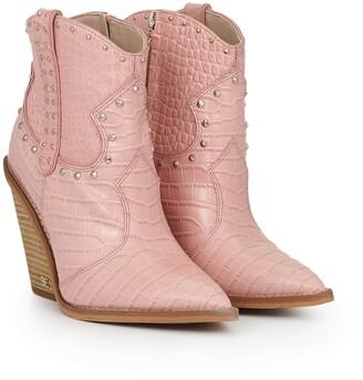 Iris Studded Western Boot