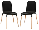 Modway Stack Dining Chairs (Set of 2)