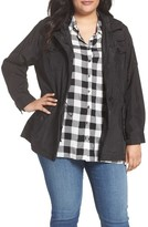 MICHAEL Michael Kors Plus Size Women's Hooded Utility Anorak