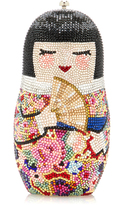 Judith Leiber Couture Niko Doll Clutch