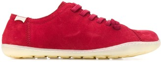 Camper Flat Lace-Up Sneakers