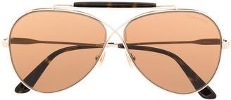Tom Ford Tom N.6 aviator sunglasses