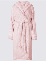 Rosie For Autograph Tie Front Shimmer Dressing Gown