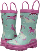 Hatley Ponies and Polka Dots Rain Boots Girls Shoes