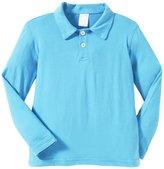 City Threads 2-Button Polo Shirt (Toddler/Kid) - Sea-2T