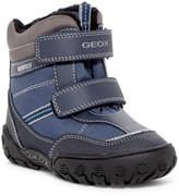 Geox Gulp Faux Fur Lined Waterproof Boot (Toddler)