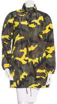 Valentino Camouflage Reversible Anorak