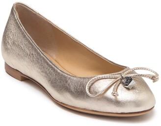 Longchamp Leather Ballet Flat