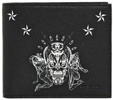 Givenchy Tattoo Printed Leather Classic Wallet