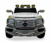 Licensed Mercedes G SUV 12-Volt Ride-On in Silver