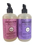 Mrs. Meyer's Clean Day Limited Edition Hand Soap Bundle (Lilac and Peony)