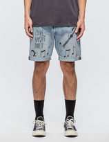 Levi's 501 CT Shorts Scribble