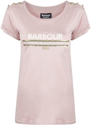 Barbour logo-print crew-neck T-Shirt